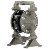 ARO Compact Series 1/2 in. Aluminum Air Diaphragm Pump w/ PTFE / Santoprene Diaphragm