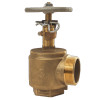 Dixon Powhatan 2 1/2 in. FNPT x 2 1/2 in. MNH(NST) Brass Adjustable Pressure Restricting Angle Valves