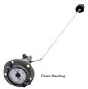 Rochester Gauges 6700 Series SAE 5 Bolt Top Mounting Adjustable Direct Reading Magnetic Gauge