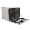 Chandler Equipment Aluminum Tread Plate Underbody Toolbox w/ Single Latch Door - 24x18x18