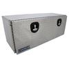 Chandler Equipment Aluminum Tread Plate Underbody Toolbox w/ Drop Down Door w/ Double Latch - 48x18x18