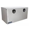 Chandler Equipment Aluminum Tread Plate Underbody Toolbox w/ Drop Down Door w/ Double Latch - 48x24x24