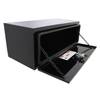 Chandler Equipment Powder Coated Carbon Steel Underbody Tool Box w/ Single Latch Door - 36x16x14