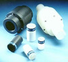 Plast-O-Matic Series FC 1 in. Thermoplastic 7 GPM Flow Control Valve w/ EPDM Seals