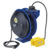 Coxreels EZ-PC Series Power Cord Reel w/ Quad Receptacle - 50 ft. - 12 AWG