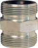 Dixon GJ Boss Ground Joint Seal Double Spud - 1 1/4 in. Wing Nut Thread x 1 1/2 in. Wing Nut Thread
