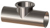 Dixon High Purity BioPharm Weld x Clamp Short Outlet Tees - 2 1/2 in. - SF1-Ra20