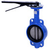 Sharpe 17 Series 6 in. Ductile Iron 10 Position Lever Butterfly Valve w/EPDM Seals & SS Disc, Wafer Style