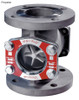 OPW 2 in. 316 Stainless Steel VISI-FLO 1500 Series Flanged Sight Flow Indicators w/ Propeller