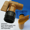 2 in. NPT High Flow Drum Faucet