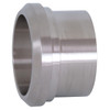 Dixon Sanitary 14A Series 304 Stainless Long Plain Bevel Seat Weld Ferrules