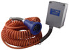 Civacon Blue Optic Hardwire Junction Box System w/ 2-Pin Plug & Coiled Cord