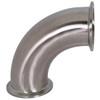 Dixon Sanitary B2CMP Series 304 Stainless 90º Clamp Elbows