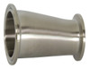 Dixon Sanitary B3214MP Series 316L Stainless Clamp Eccentric Reducers
