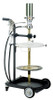 Lubeworks 120 lbs. (16  Gallon Drum) Mobile Grease Dispensing System