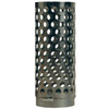 Dixon Zinc Plated Steel Long Thin Strainer Round Hole Type