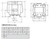 Balcrank CenterFlo CF15 Polypropylene Dual Fluid Inlet Diaphragm Mixing Pumps 14 GPM
