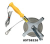 U.S. Tape 1/2 in. Double Duty Oil Gauging Tapes on Frame w/ Handle & Ground Clamp Less Bob