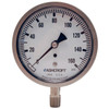 Dixon 4 in. Face Lower Mount Stainless Case Dry Gauges