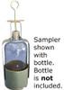 W.L. Walker Brass Bottle Samplers with Cork