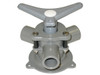 Bosworth Sea-Lect YV-094D-B 1 in. Base Mount Y-Valve w/ Aluminum Handle