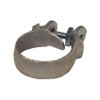 Dixon Plated Iron Single Bolt Clamps