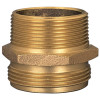 Dixon Brass 2 in. Male to Male Hex Nipples
