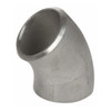 Smith Cooper 304 Stainless Steel 2 in. 45° Elbow Weld Fittings - Sch 40