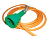 Scully Green Thermistor Plug & 20 ft Straight Cord w/ 4 J-Slot Pins & 10 Contact Pins for Scully System