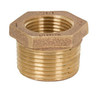 Smith Cooper Brass 125# Lead-Free Hex Bushing - Threaded