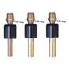 Superklean 8-B Series 1/2 in. NPT Brass & 304 Stainless Steel Ball Type Swivel Adapters