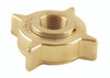 Emerson Fisher 3 1/4 Brass Female ACME x 1 1/4 in. FNPT Adaptor