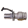 Civacon 633CPP Vapor Recovery Coupler w/ 4 in. TTMA Flange x 4 in. Straight Hose Shank & T Handle