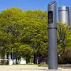 Bosch EV800 Series Electric Vehicle Bollard Charge Station, Single