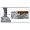 Betts Steel Threaded Pipe x TTMA Flange Manual Sliding Valve w/ 316 SS Stem & Gate