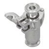 Cipriani Harrison Valves Corp. 63 Series 316 Stainless Steel Fractional Check Valve w/ PTFE Seal