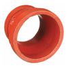 Anvil FIG 7072 Gruvlok® Grooved-End Gr x Gr Concentric Reducers, Ductile Iron Ptd. Orange