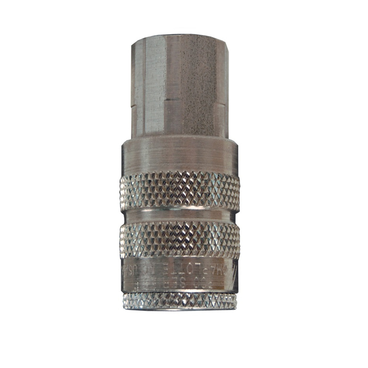 Dixon Air Chief Steel Industrial Quick Connect Coupler 3/8 in Female NPT x  1/2 in  Body