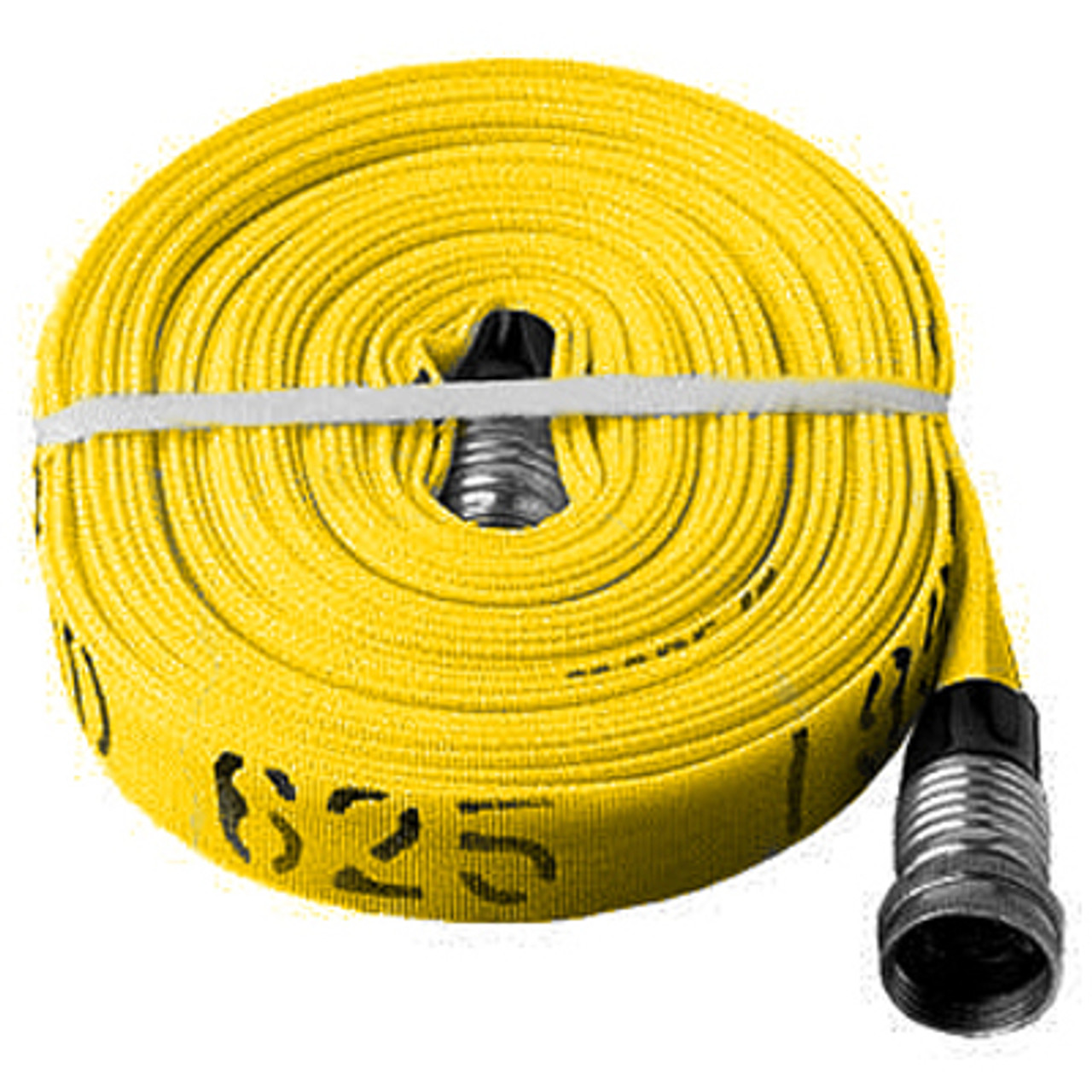 """3//4"""" Forest Lite Mop-Up Hose 50' White"""