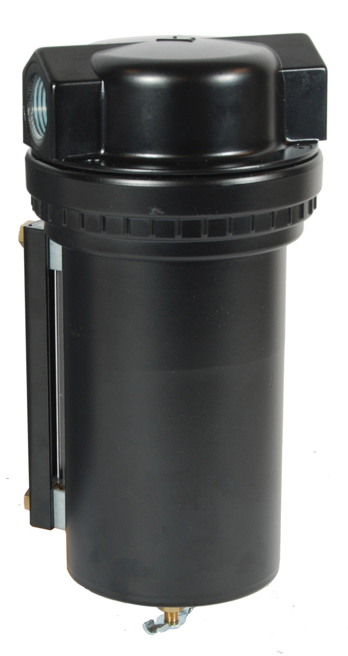 50 Micron Dixon F17-800A Norgren Series Semi Automatic Drain Airline Filter with Sight Glass Metal Bowl 1 Port Size 1 Size 425 SCFM 250 PSI