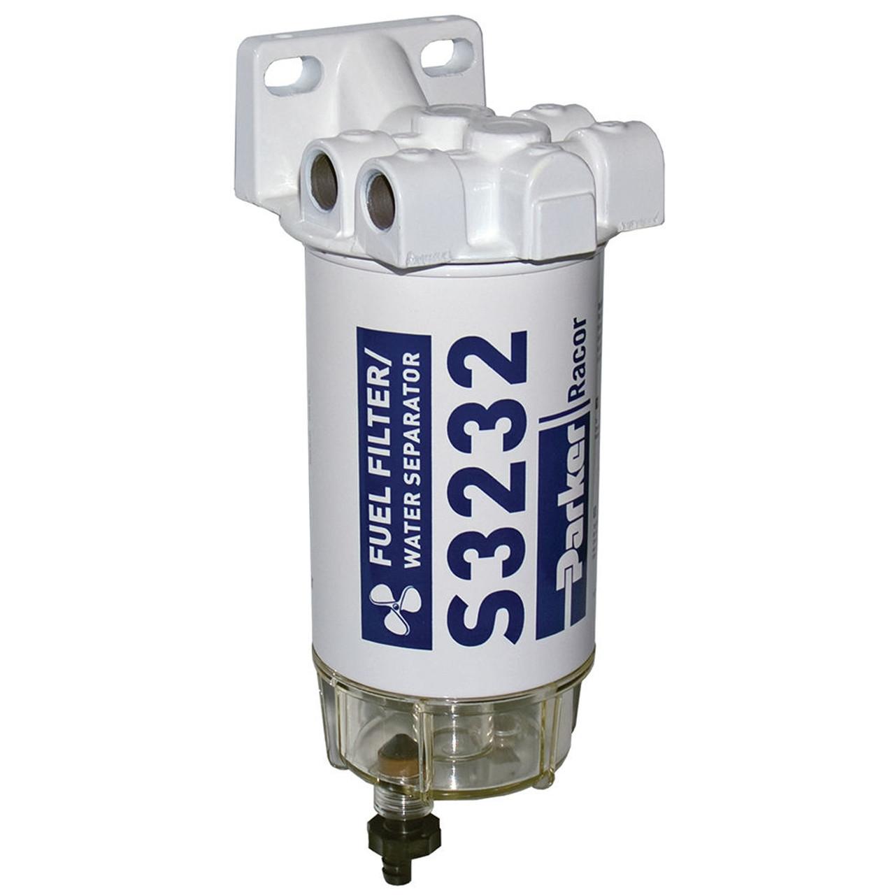 racor aquabloc marine 3 8 in 90 gph spin on gasoline filter Racor Marine Gas Filter racor aquabloc marine 3 8 in 90 gph spin on gasoline filter assembly s3232 6 qty john m ellsworth co inc