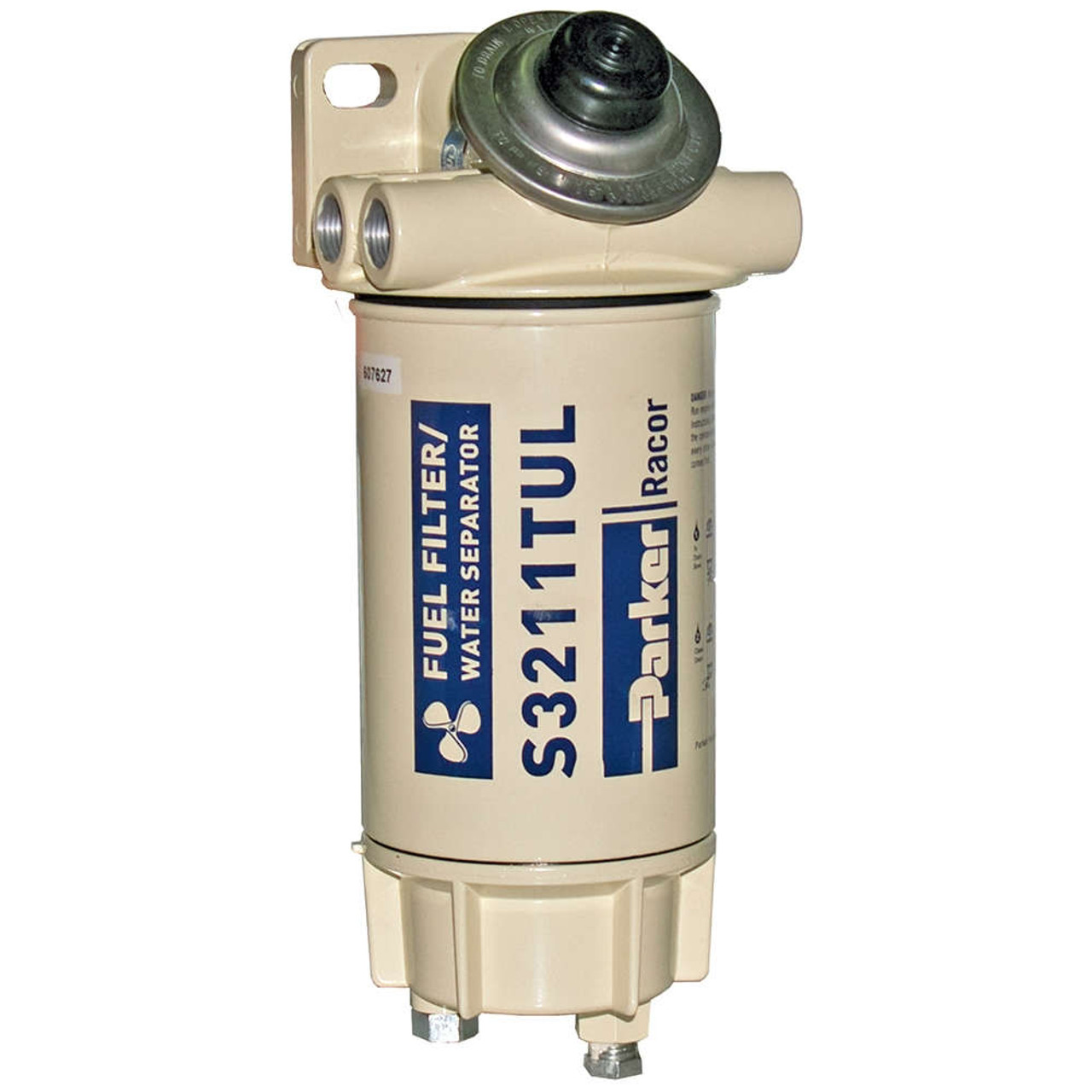 Racor Aquabloc Marine 3/8 in  60 GPH Spin-On Diesel Fuel Filter Water  Separator Assembly - 6 Qty