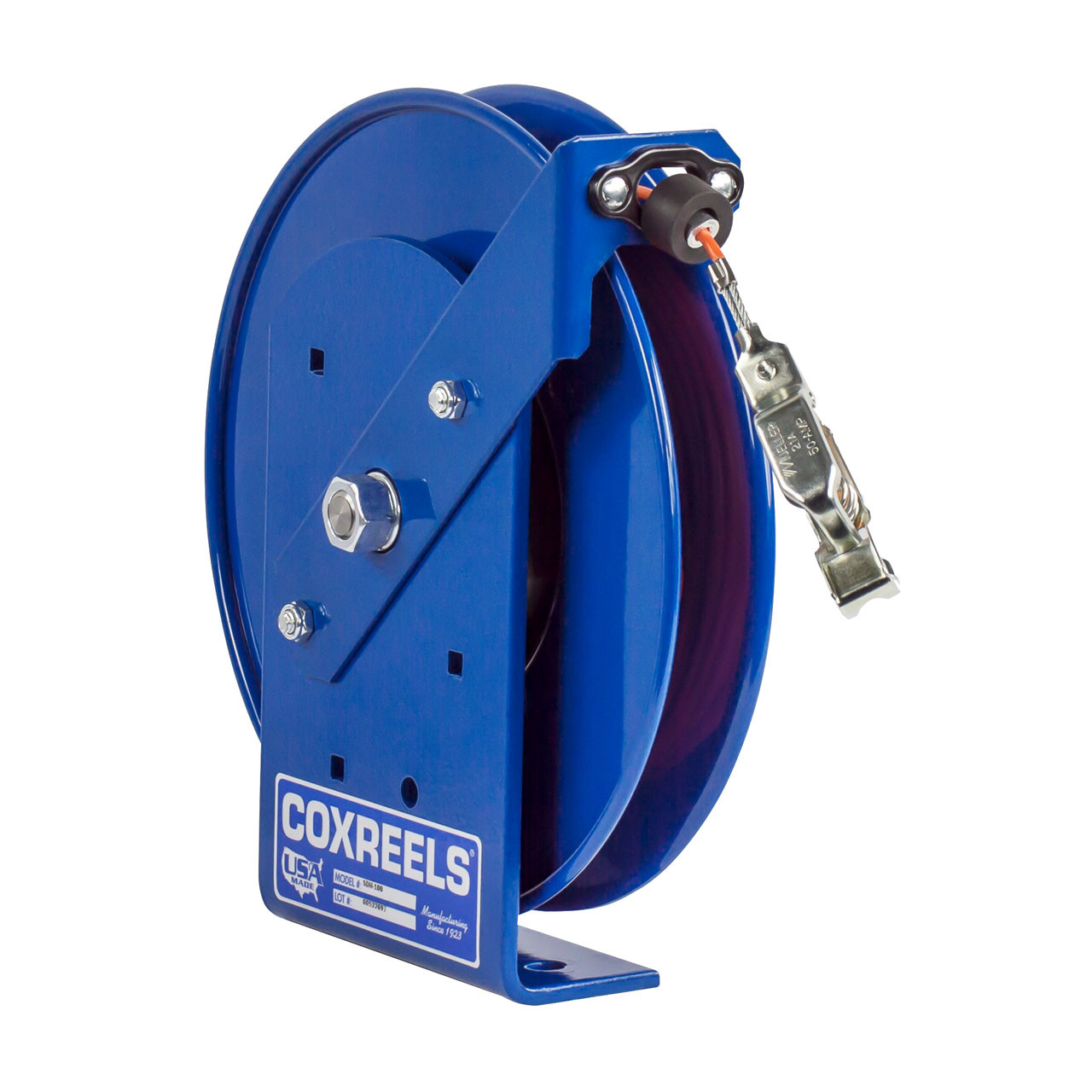 Coxreels Sdh 200 Static Discharge Hand Crank Cable Reel W 200 Ft Cable