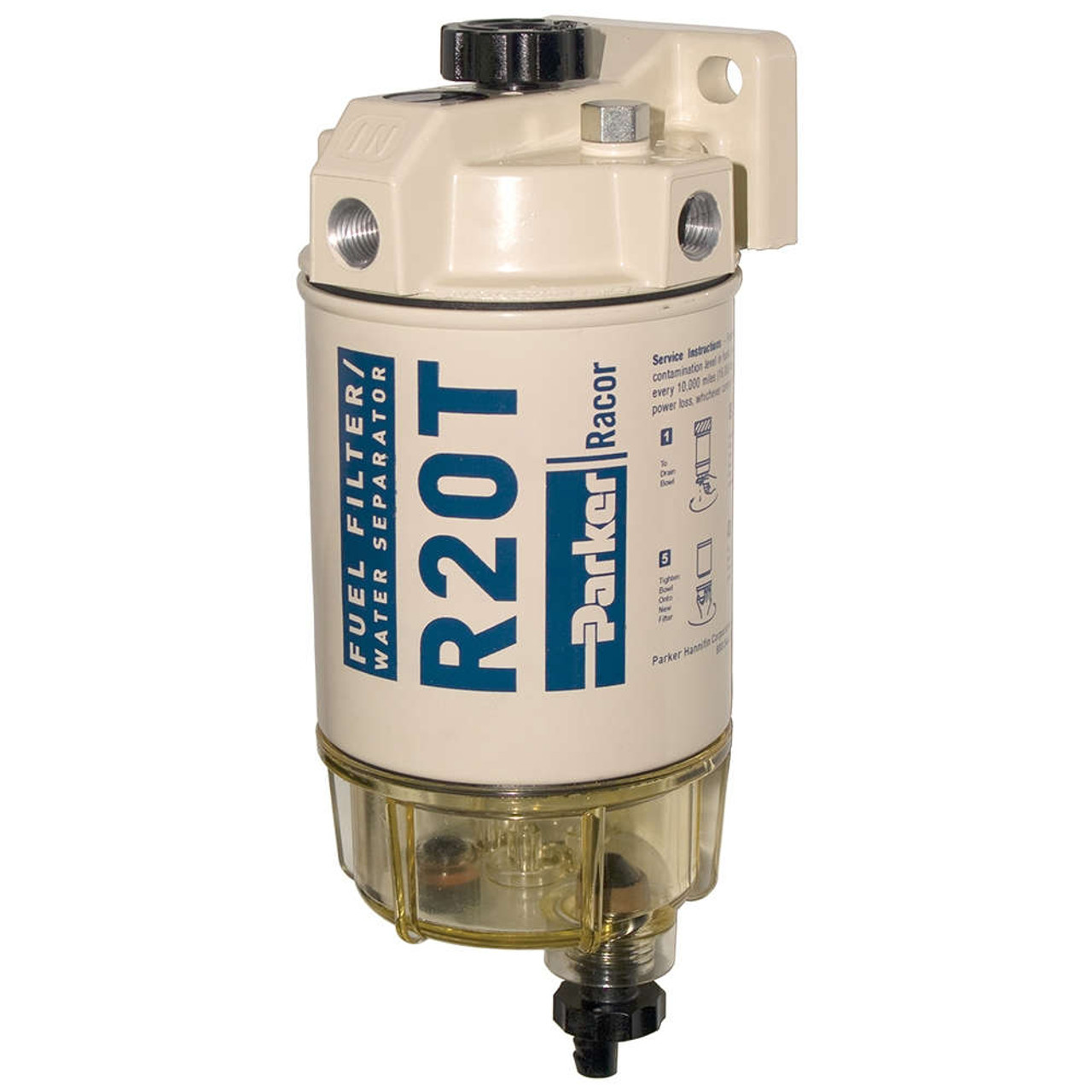RACOR FUEL FILTER//WATER SEPARATOR ASSY