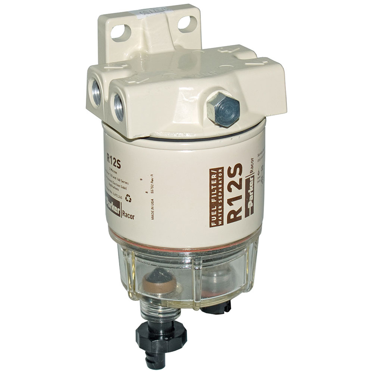 racor 120a low flow fuel filter water separator filter assembly 2 micron 6.0 Powerstroke Fuel Filter