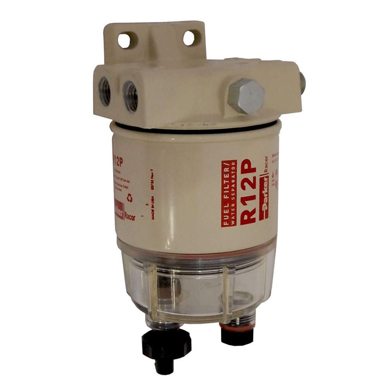 Racor 120A Low Flow Fuel Filter/Water Separator Filter Assembly - 30 Micron  - John M. Ellsworth Co. Inc.John M. Ellsworth