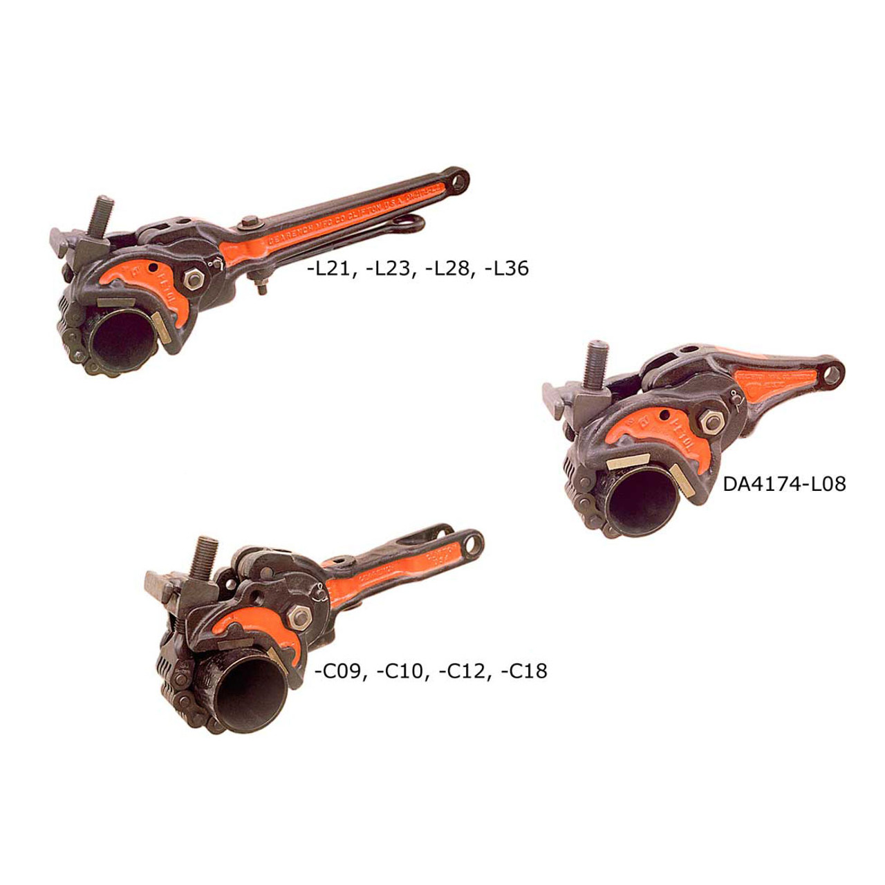 Gearench PETOL Drill Pipe Tongs (Chain not included)