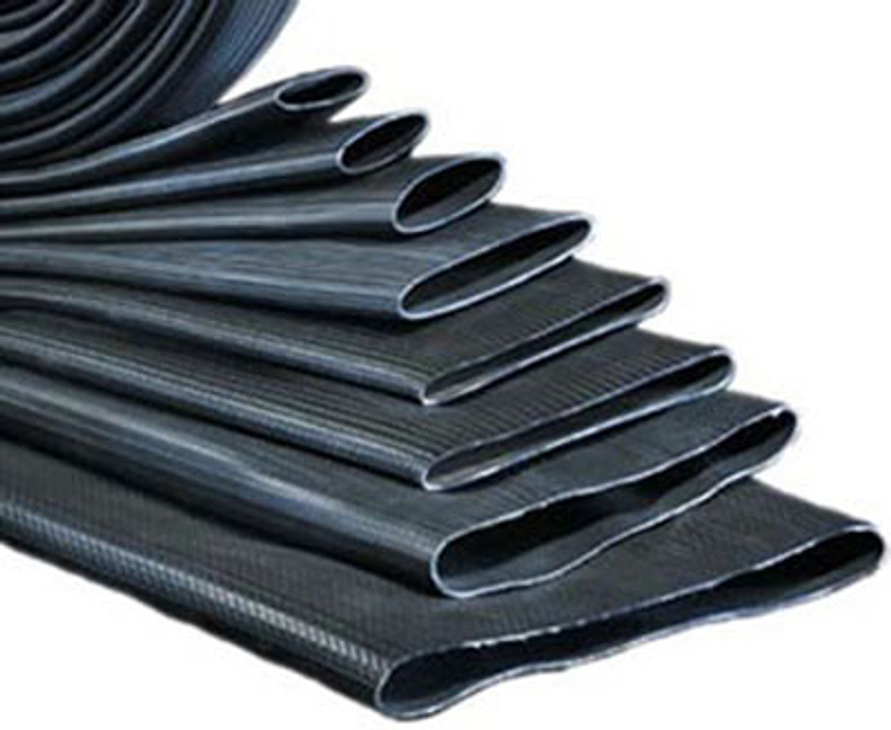 Black Kuriyama GF400X200 Gatorflow Nitrile//PVC Oil and Weather Resistant Rubber Discharge Hose