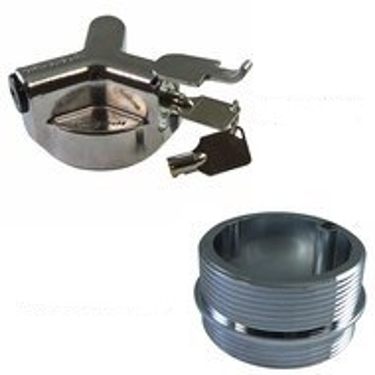 Spin Secure FSS-754 NPT Vented Locking Fuel Cap