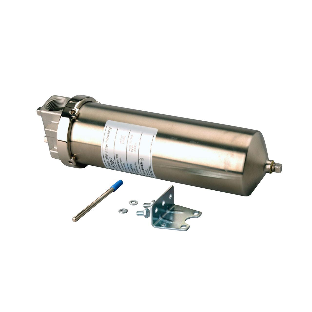 donaldson diesel exhaust fuel filter housing 1 in npt Diesel Exhaust Filter